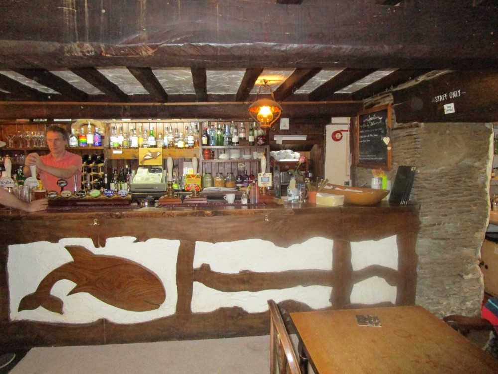 Dog-friendly pub with beach and dog walks, Devon - Devon dog walk and dog-friendly pub.JPG