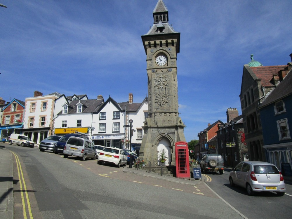 Dog-friendly Knighton, Wales - dog-friendly pubs and dog walks in Wales.JPG