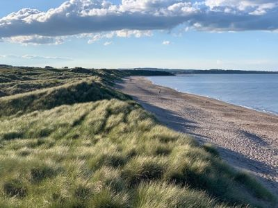 Historic dog-friendly village with pubs, walks, hotels and a massive dog-friendly beach, Northumberland - Driving with Dogs
