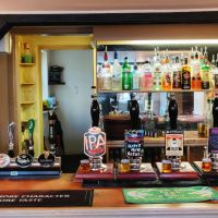 Dog walk and a dog-friendly village pub near the A11, Essex - Essex dog-friendly pub and dog walk