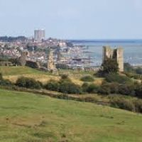 Hadleigh Country Park - accessible dog walks, Essex - Hadleigh Castle dog walk.jpg