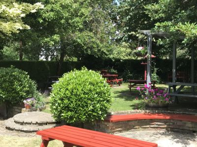 Dog-friendly pub and dog walk near Cambridge and the A14, Cambridgeshire - Driving with Dogs