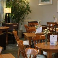 A438 The Old Railway Line Garden Centre, Wales - Powys dog-friendly cafe