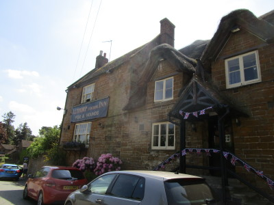 M1 Junction 16 Great Brington dog-friendly pub and dog walk, Northamptonshire - Driving with Dogs