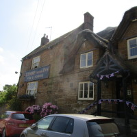 M1 Junction 16 Great Brington dog-friendly pub and dog walk, Northamptonshire - Dog walks in Northamptonshire