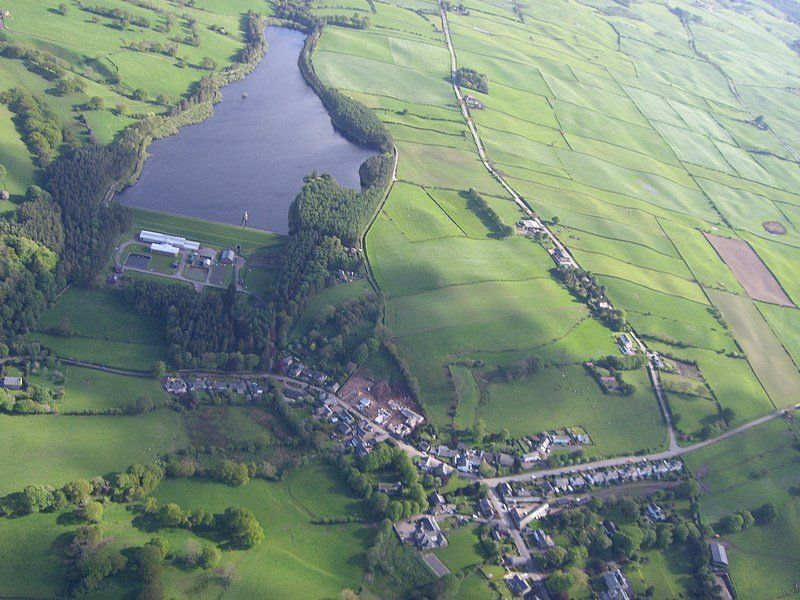 Country dog walk and dog-friendly pub near Carlisle, Cumbria - reservoir dog walk.jpg