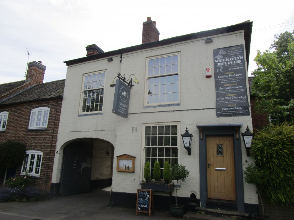 Sutton Cheney dog-friendly inn and dog walk, Leicestershire - Leicestershire dog-friendly pub and dog walk