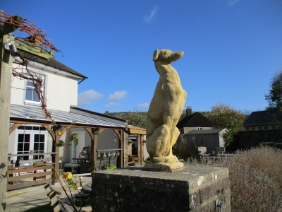 Country dog walk and pub near Dorchester, Dorset - Driving with Dogs