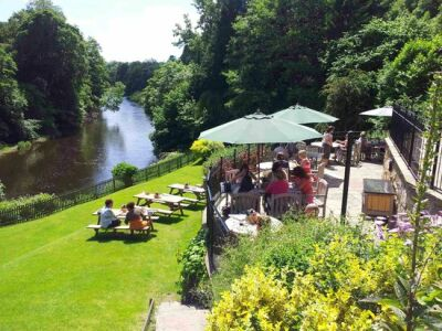 River Dee dog-friendly pub and dog walk, Wales - Driving with Dogs