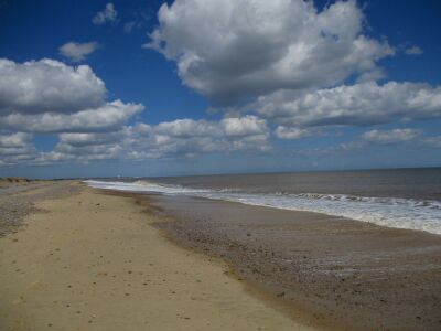 Kessingland dog-friendly beach, Suffolk - Driving with Dogs