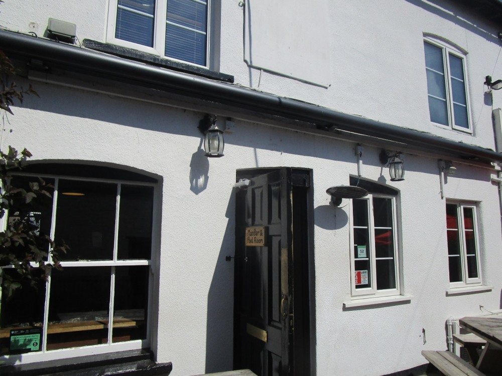 Dog-friendly Knighton, Wales - dog-friendly pubs and dog walks in Wales.JPG