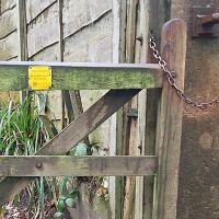 Sett Valley Trail and Moorland Road dog walk, Derbyshire - 2. Footpath Off New Sett Valley Birch Vale onto A6015.jpg