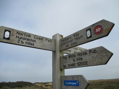 A149 dog walk, beach and dog-friendly pub, Norfolk - Driving with Dogs