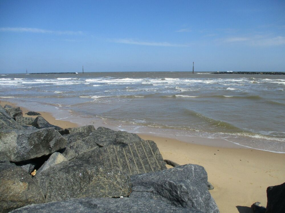 Sea Palling dog-friendly beach, Norfolk - Norfolk dog-friendly beaches.JPG