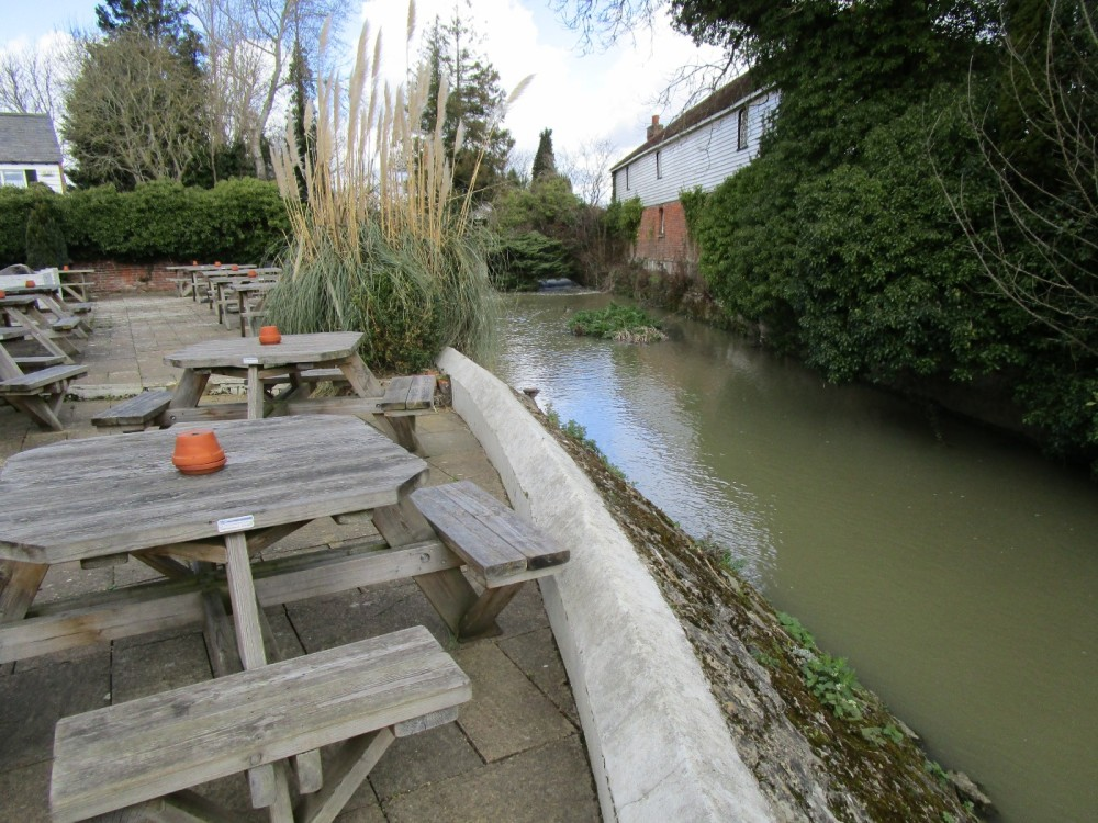 Dog-friendly pub near East Peckham, Kent - Kent dog-friendly pubs with dog walks.JPG