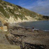 Lulworth Cove dog-friendly beach, walk and pub, Dorset - IMG_6680.JPG