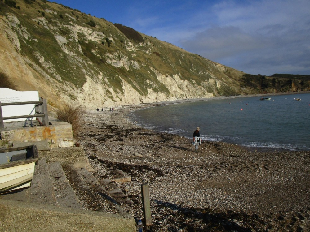 Lulworth Cove dog-friendly beach, walk and pub, Dorset - IMG_6680.JPG