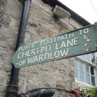 Dog walk and pub near Wardlow, Derbyshire - Derbyshire White Peak dog walk and dog-friendly pub