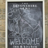 Dog-friendly pub and dog walk near Chatsworth, Derbyshire - Peak District dog-friendly pub and dog walk