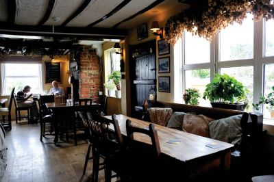 A131 dog walk from a dog-friendly dining pub near Sudbury, Essex - Driving with Dogs