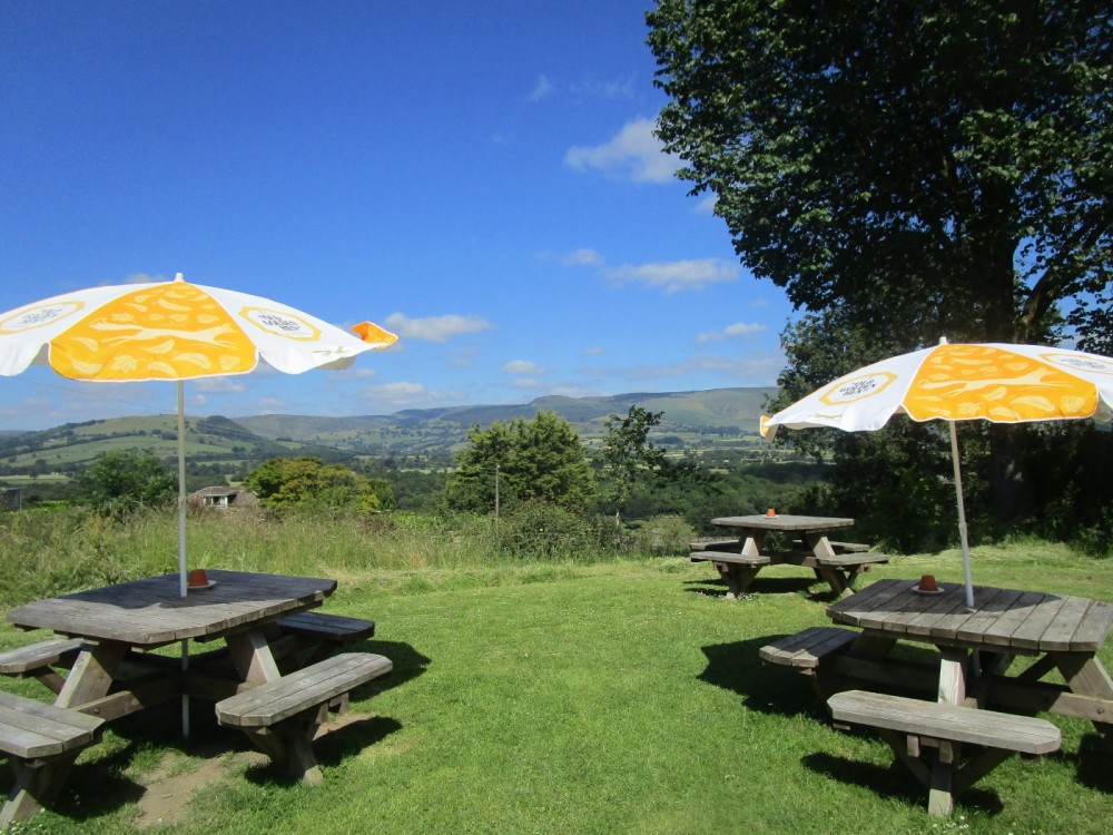 A44 dog-friendly dining in style, Wales - dog-friendly pubs and dog walks in Wales.JPG