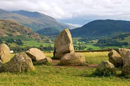 A66 Stone Age dog walk near Keswick, Cumbria - Dog walks in Cumbria