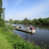Riverside dog walk and dog-friendly hotel, Worcestershire - Worcestershire dog-friendly pub and dog walk.JPG