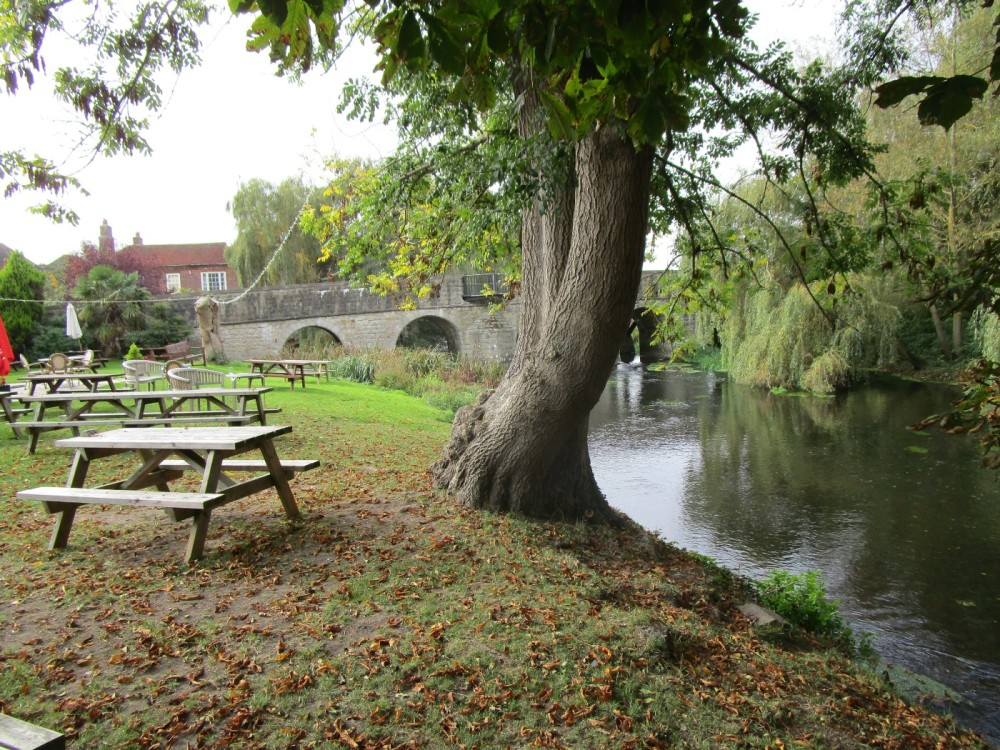 Riverside dog-friendly pub and dog walk, Kent - Kent dog-friendly pubs with dog walks