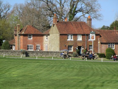 A283 dog walk and dog-friendly pub, West Sussex - Driving with Dogs