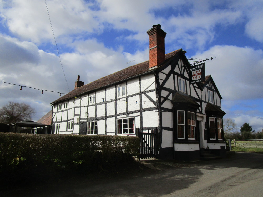 M5 Junction 5 or 6 dog walk and dog-friendly pub, Worcestershire - Dog walks in Worcestershire
