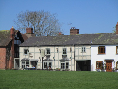 Village dog-friendly pub and dog walk, Herefordshire - Driving with Dogs