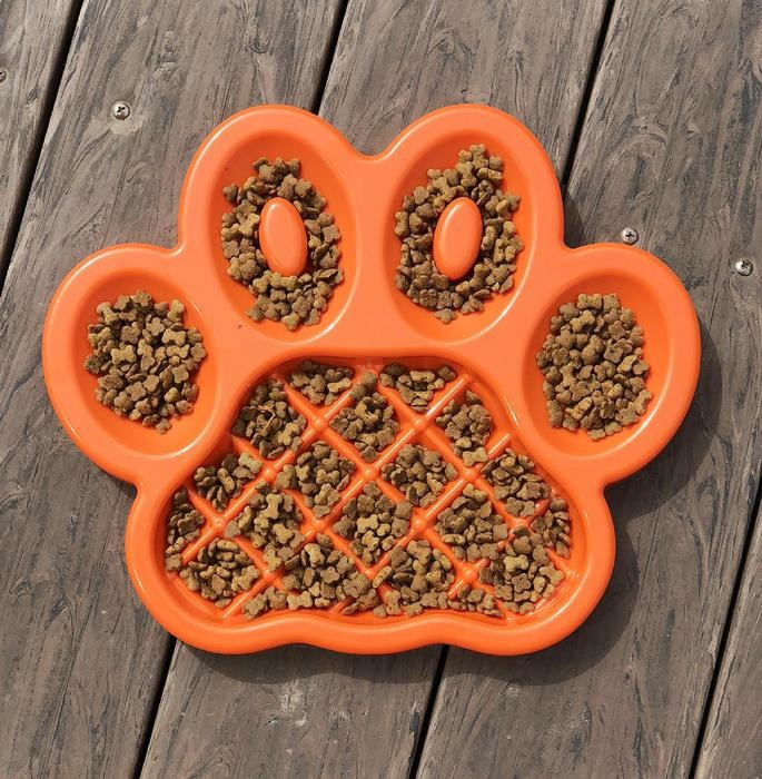The Paw Feeder - slow your pet's eating