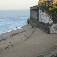 Kingsgate Bay dog-friendly beach, Kent - Kent dog-friendly pubs with dog walks