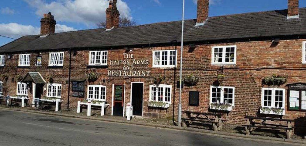 Dog-friendly pub near Stretton, Cheshire - Hatton-Arms dog-friendly Cheshire.jpg