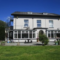 A44 doggiestop on the way to Aberystwyth, Wales - Wales dog-friendly pubs and walks.JPG