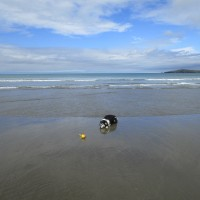 Poppit dog-friendly beach near Cardigan, Wales - Wales dog-friendly beach and dog walk