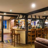 Dog-friendly country pub with B&B rooms and a dog walk, Cambridgeshire - Cambridgeshire dog-friendly pub and dog walk
