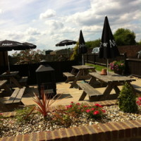 Dog-friendly pub with a short dog walk near Luton, Hertfordshire - Hertfordshire dog friendly pub and dog walk.jpg