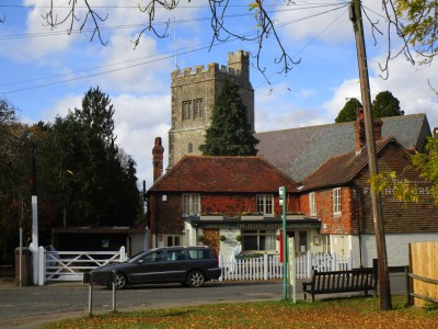 A274 pretty village dog-friendly pub and dog walk, Kent - Driving with Dogs