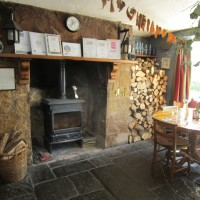 A396 Dog-friendly pub and walk above the Dart valley, Devon - Devon dog walk and dog-friendly pub.JPG