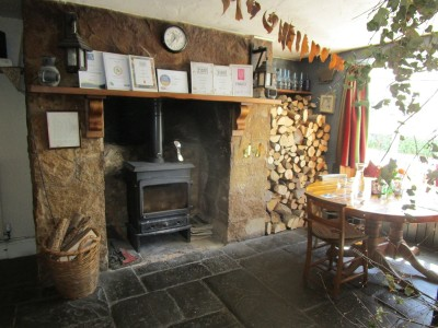 A396 Dog-friendly pub and walk above the Dart valley, Devon - Driving with Dogs