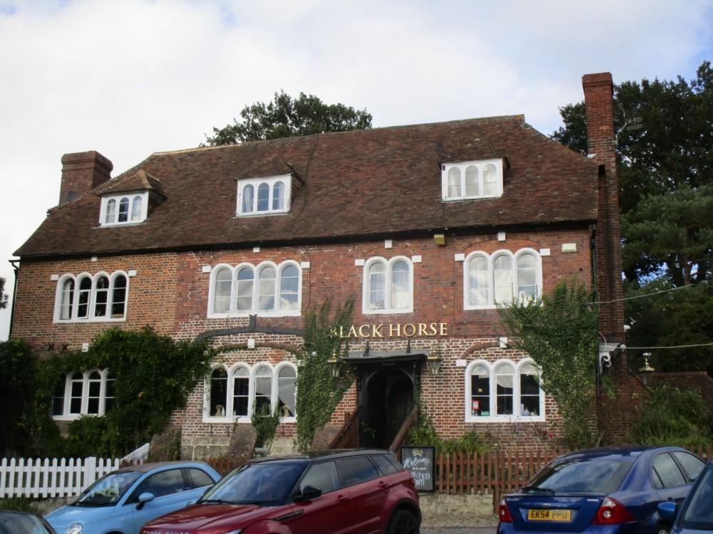 Pluckley pub with a woodland dog walk, Kent - Kent dog-friendly pub and dog walk