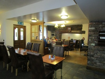 A487 dog-friendly pub between Aberystwyth and Aberaeron, Wales - Driving with Dogs
